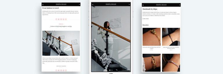 Ishpa Shah Web Web Design Portfolio image