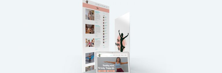 The Happy Fit Web Web Design Portfolio image