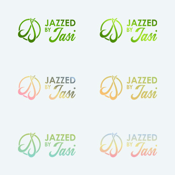 Jazzed by Jasi Logo - different colours